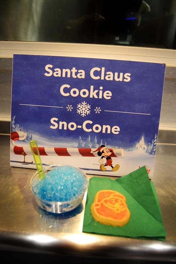 Cookies and Treats at Mickey's Christmas Party