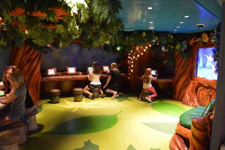 Pixie Hollow area in Oceaneer Club