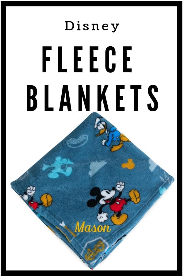 Disney Fleece blankets make great gifts