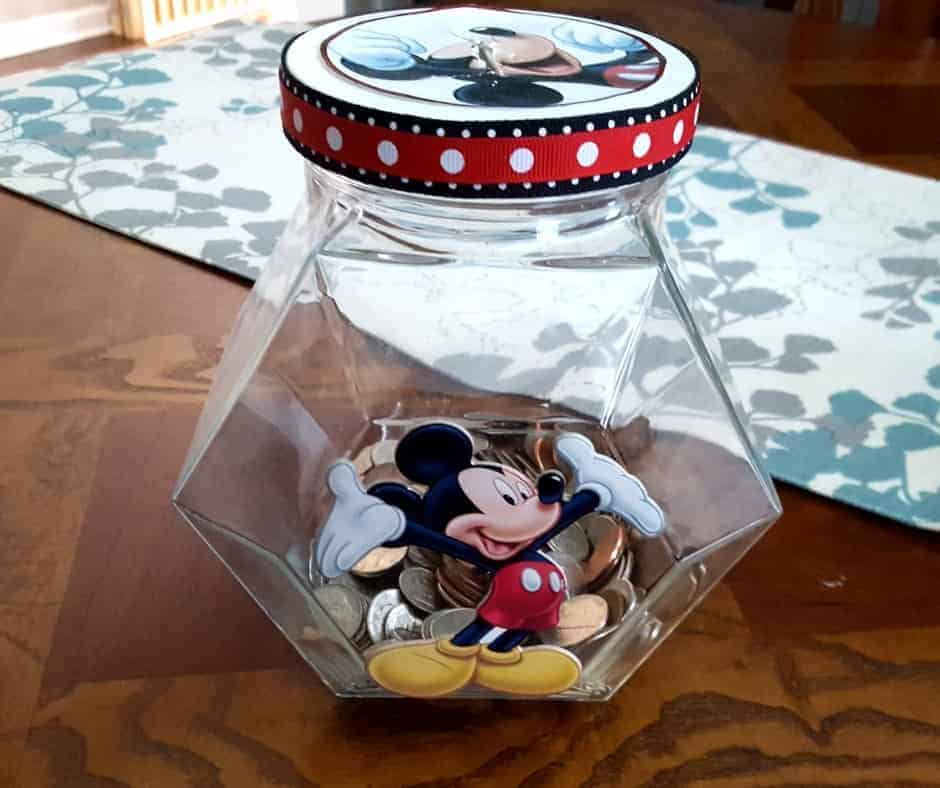 Make a Disney Savings Jar