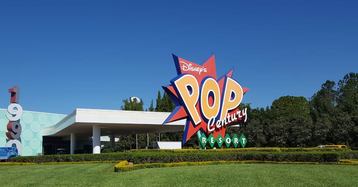 Pop Century Resort at Disney