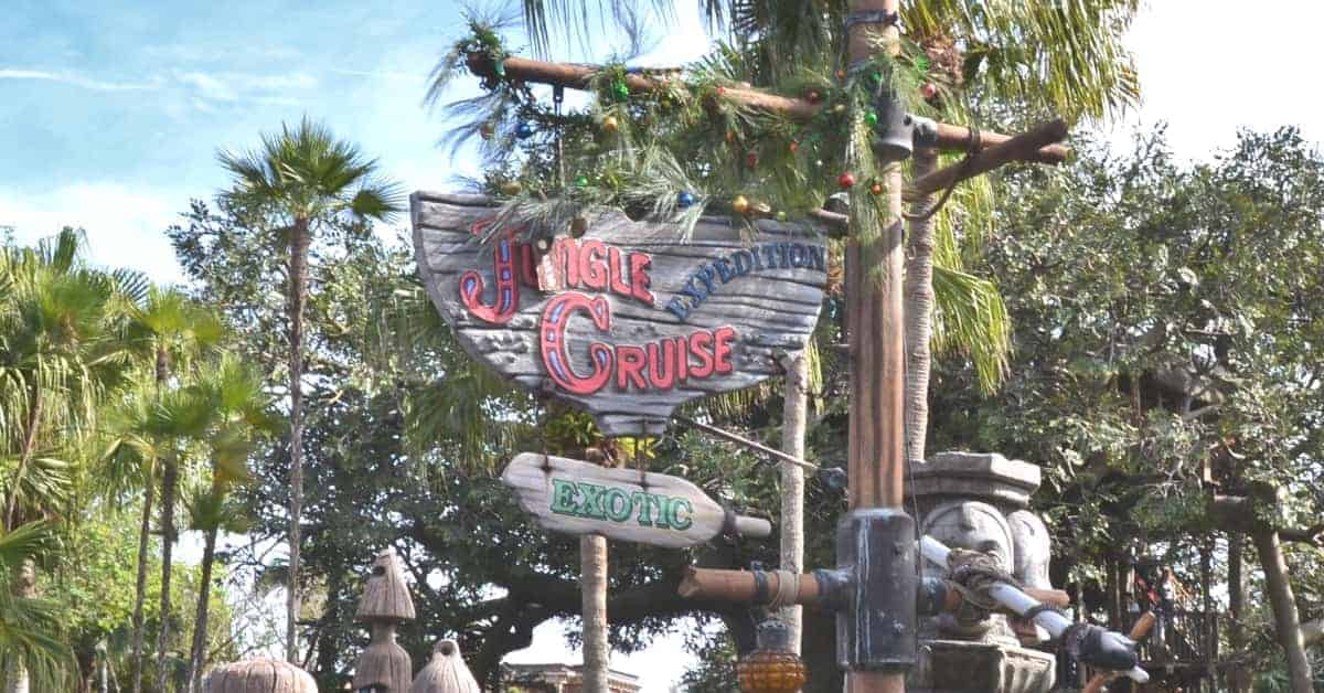 Jingle Cruise at Christmas