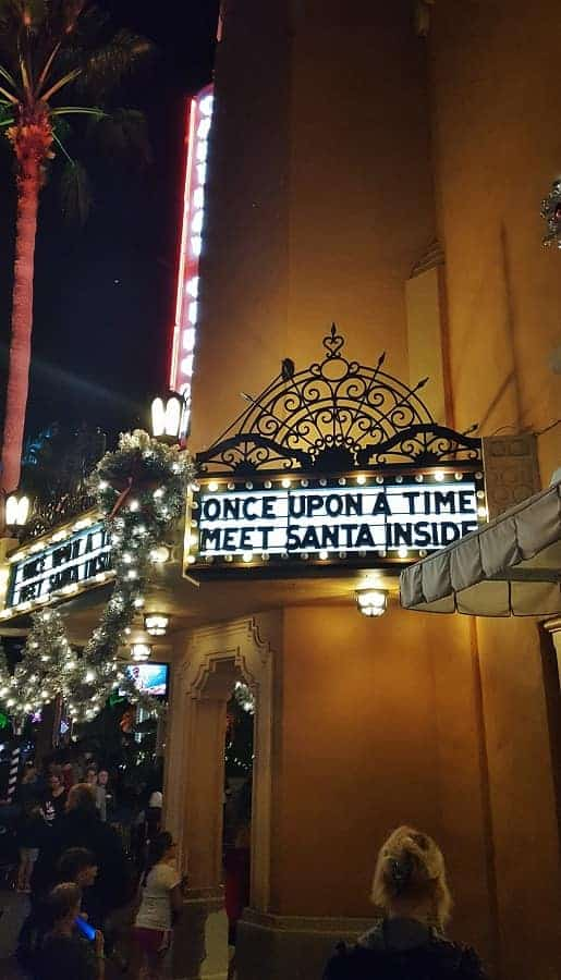 Where to Meet Santa at Hollywood Studios