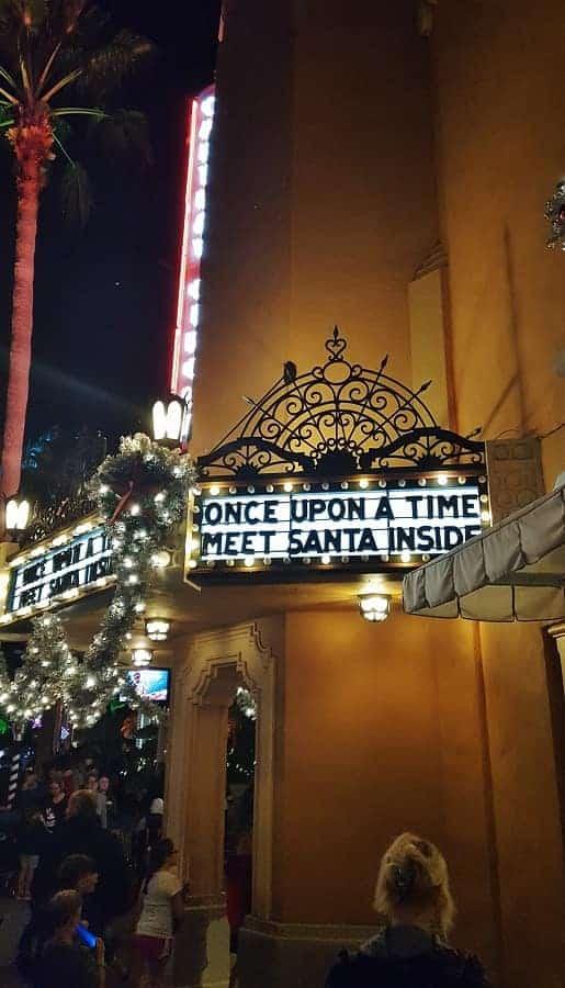 Where to Meet Santa at Hollywood Studios