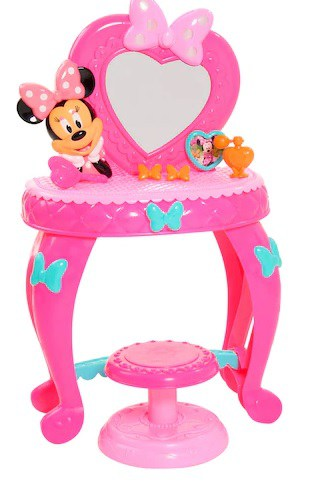Minnie Mouse Vanity