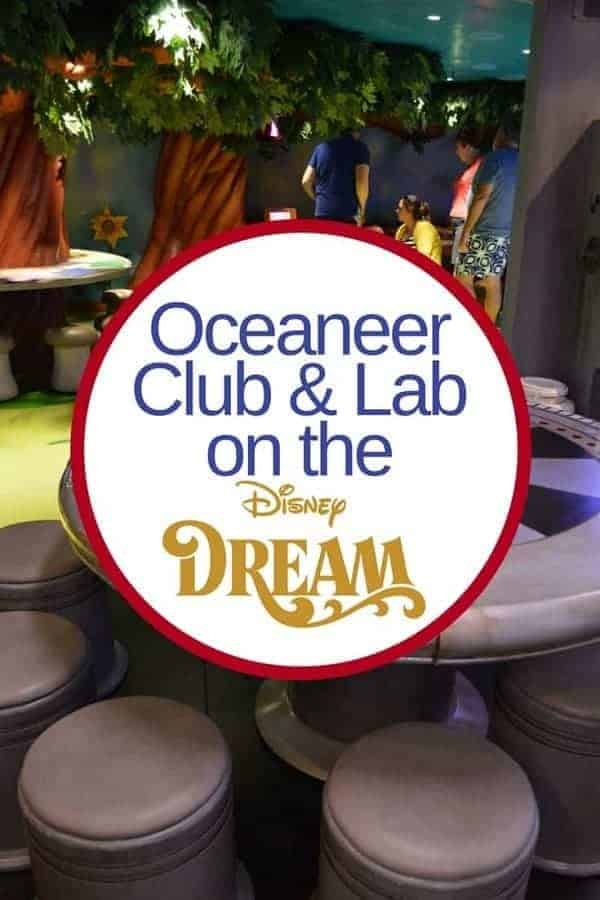 Disney Oceaneer Club on Disney Dream Cruise Ship