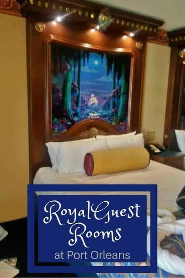Disney Port Orleans Royal Guest Room