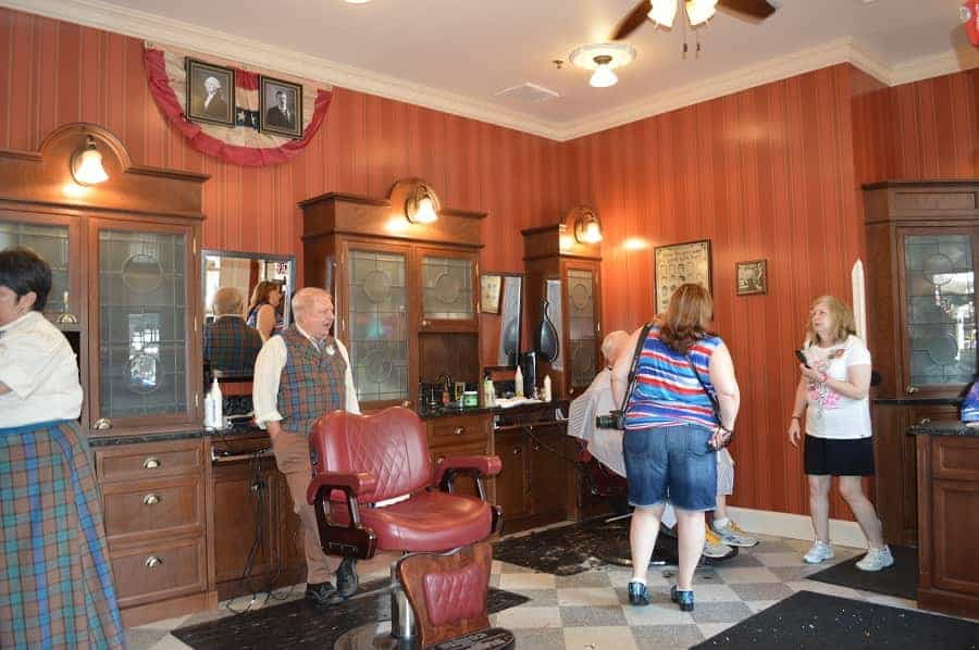 Inside the Magic Kingdom Barber Shop