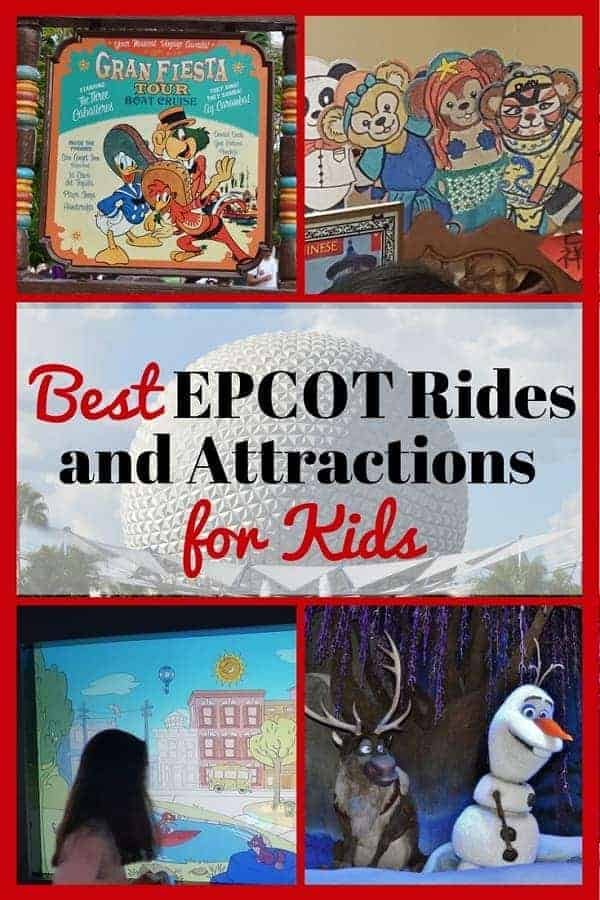 Best Rides & Attractions in Epcot for Kids