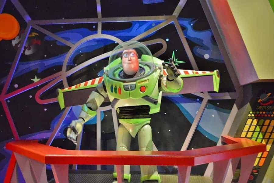 Buzz LIghtyear Space Ranger Spin Clue