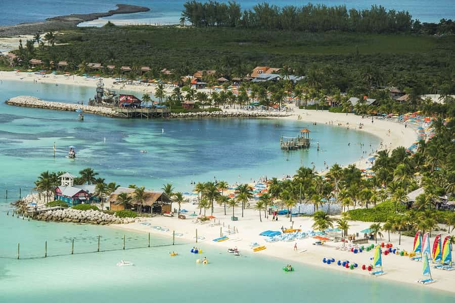 Disney's Castaway Cay Island in the Bahamas