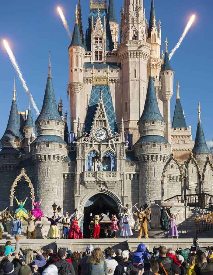 Magic Kingdom Welcome Show at Cinderella Castle