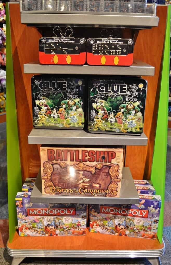 Disney Board Games at WDW
