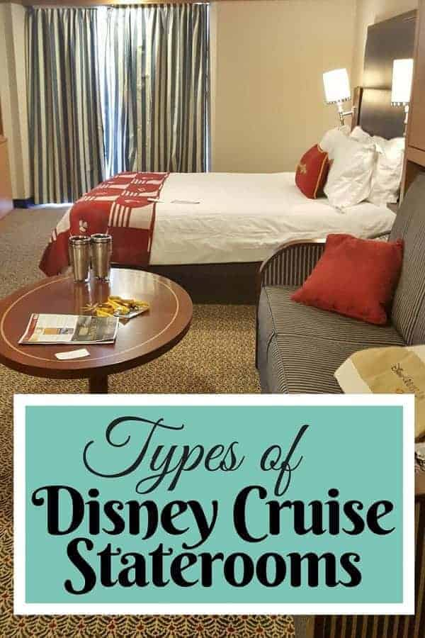 Types of Disney Cruise Staterooms