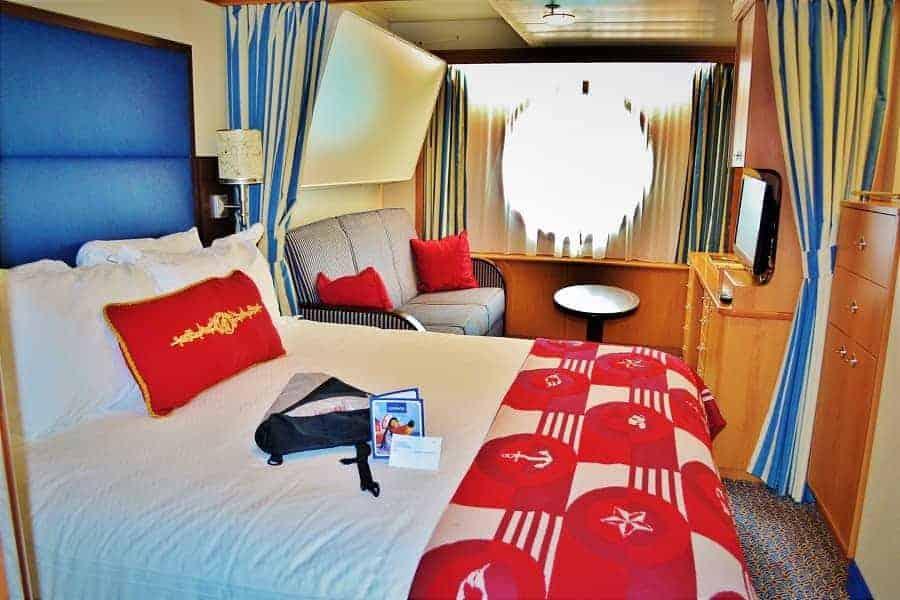 Ocean view room Disney Cruise LIne