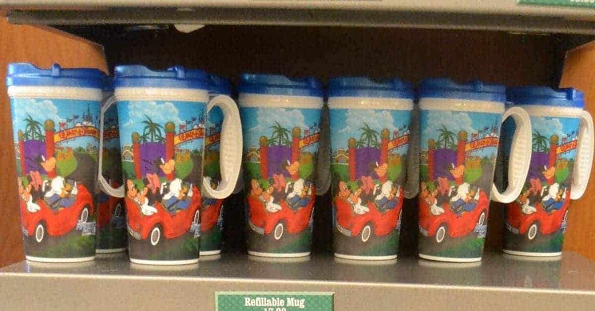 Disney Rapid Refill Mugs
