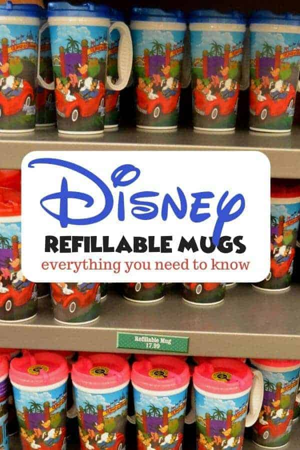 Disney Refillable Mug Facts & Tips