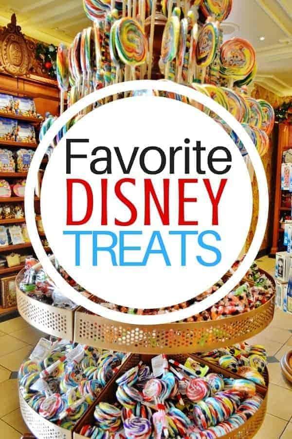 Favorite Disney Treats