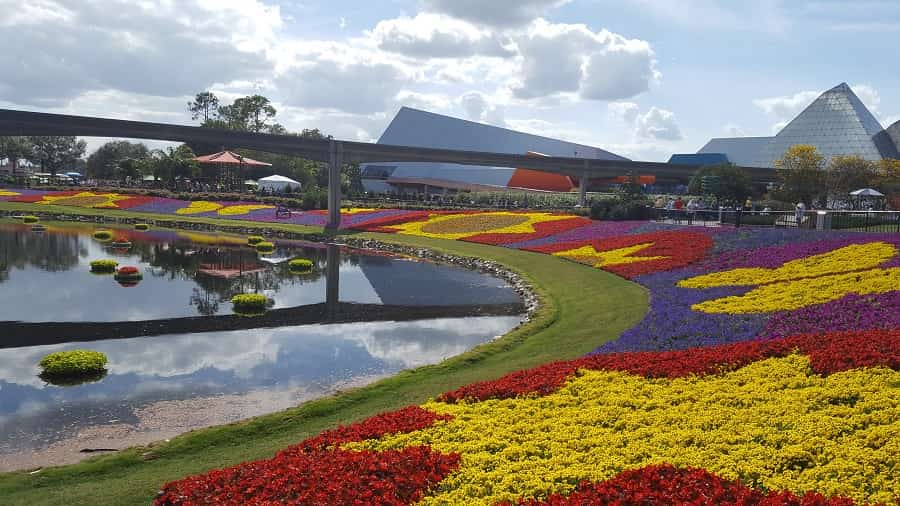 Visit the Epcot Flower & Garden Festival this spring