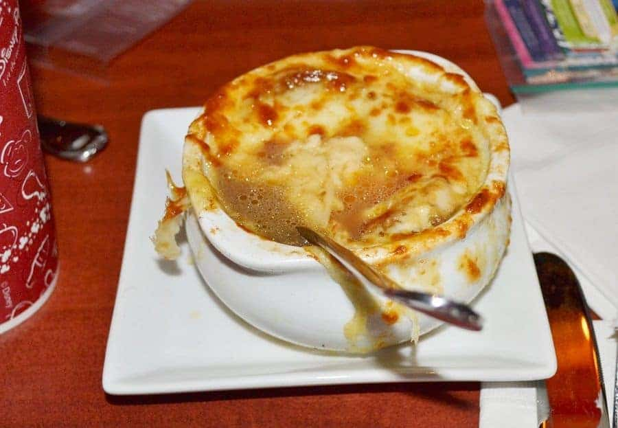 French Onion Soup at Be Our Guest