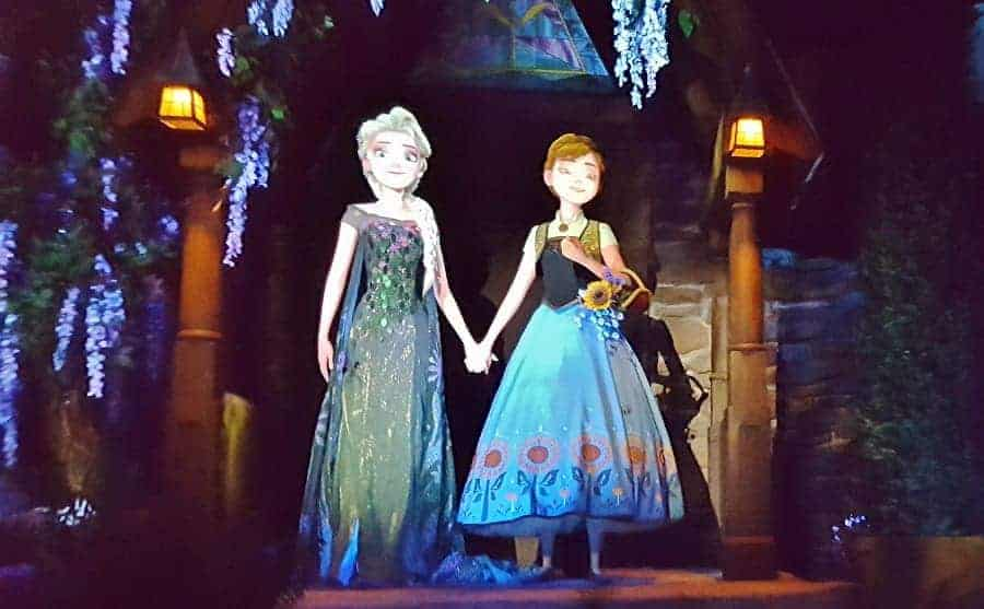 Frozen Ever After Ride in Epcot