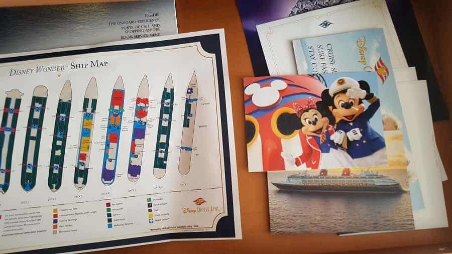 Inside your desk on Disney Cruise