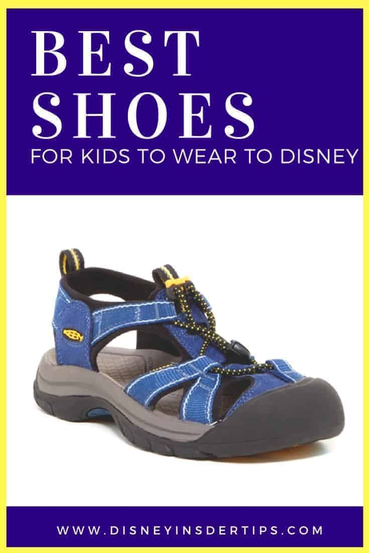 Best Shoes for Kids to Wear to Disney
