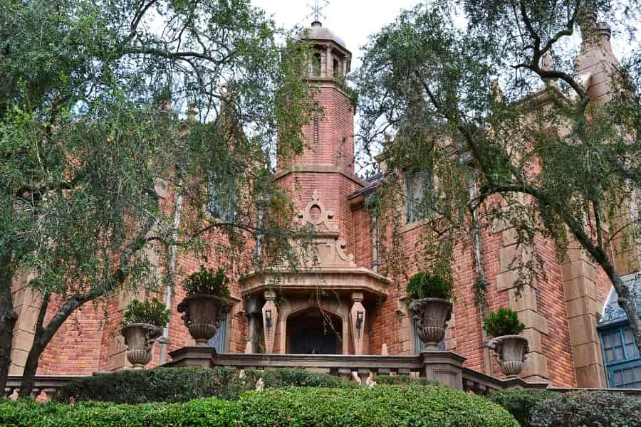 Magic Kingdom Secret at Haunted Mansion