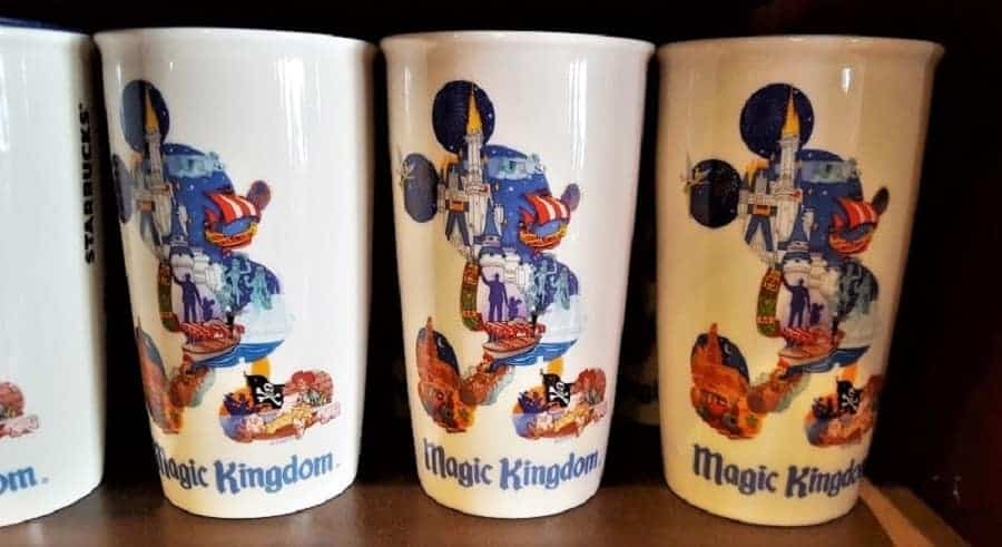 Disney World Starbucks Mug