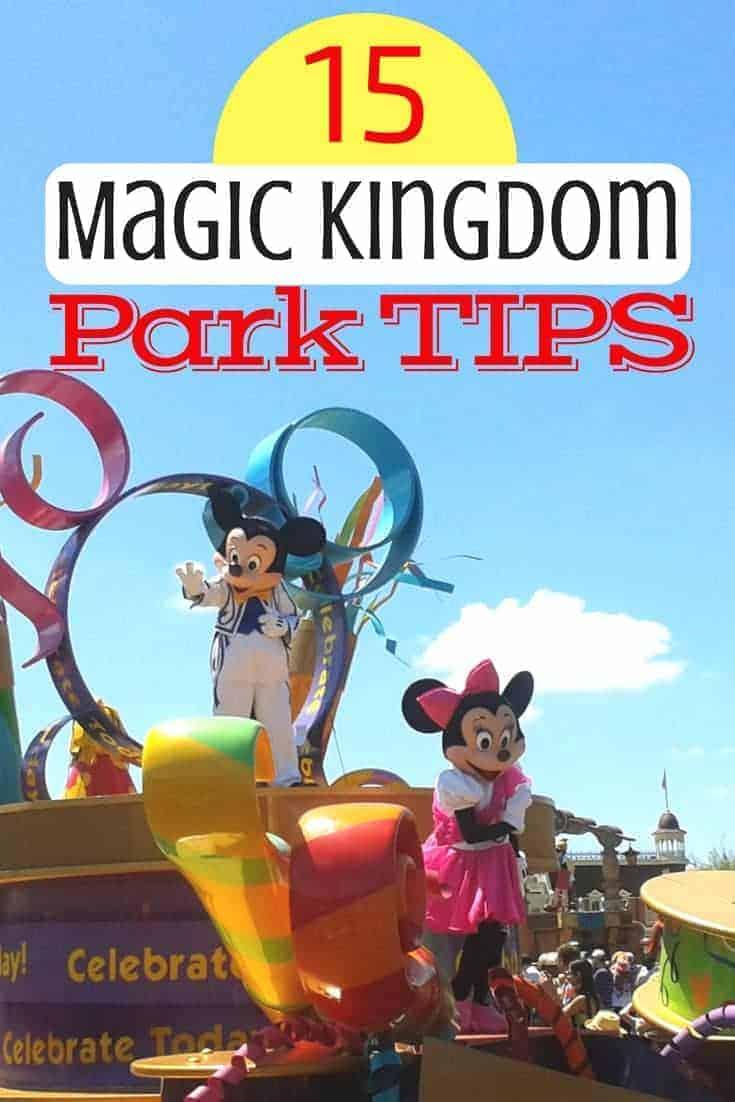 List of 15 Magic Kingdom Tips