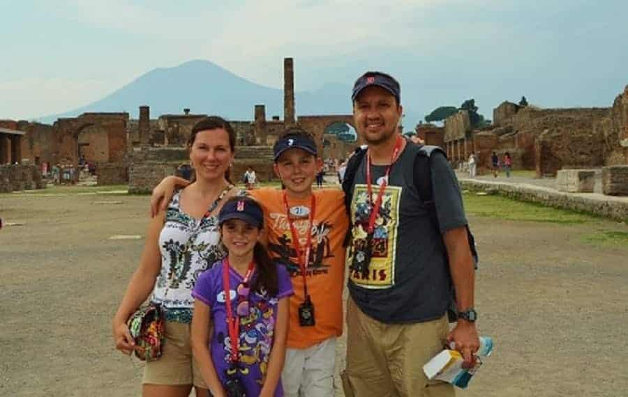 Pompeii Disney Excursion