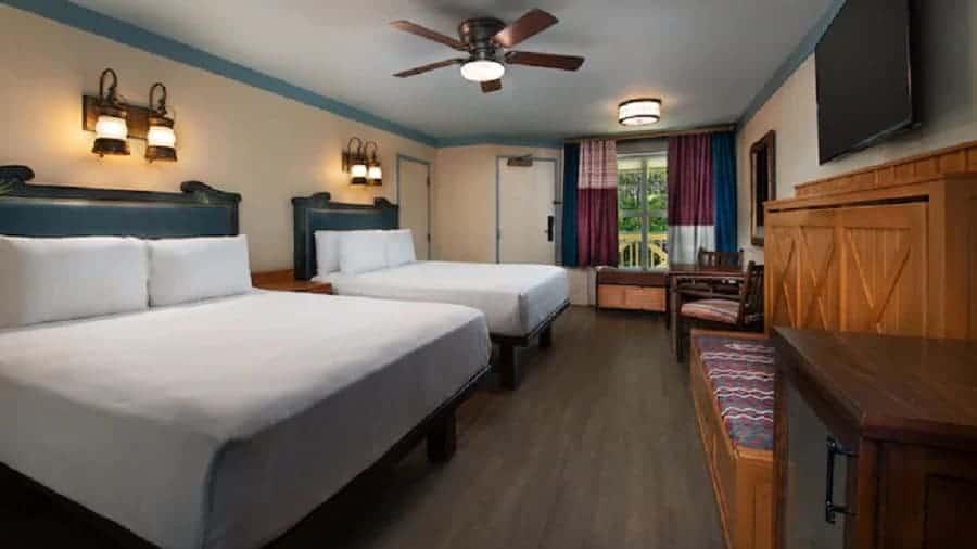 Port Orleans Riverside Rooms