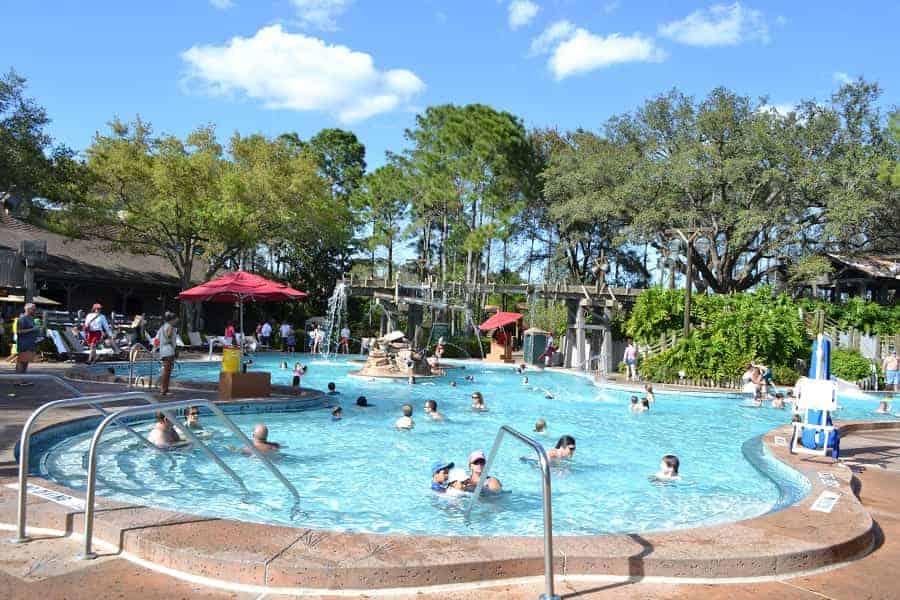 Ol' Man Island Pool at Port Orleans Riverside