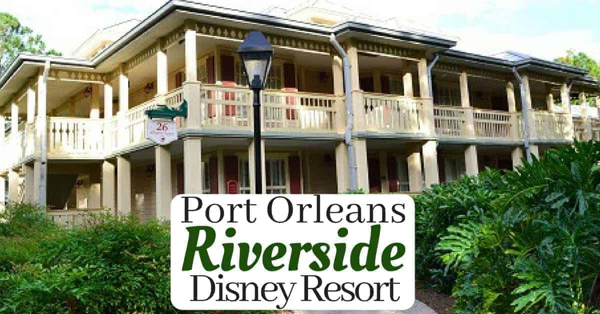 Port Orleans Riverside Resort