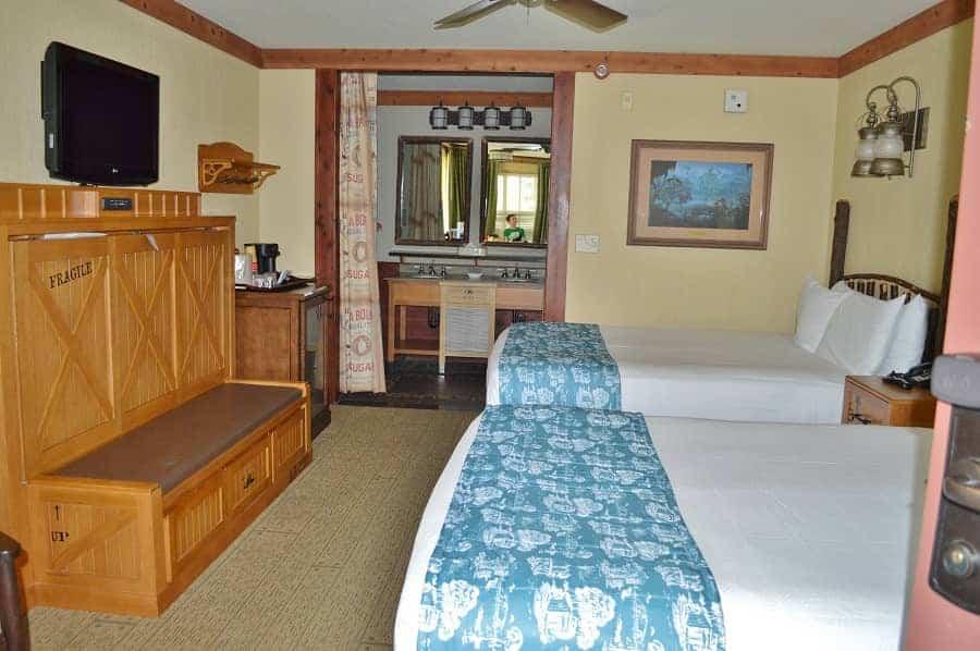 Room at Disney Port Orleans Riverside
