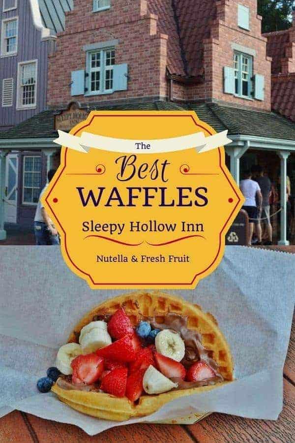 Sleepy Hollow has the Best Waffle at Disney