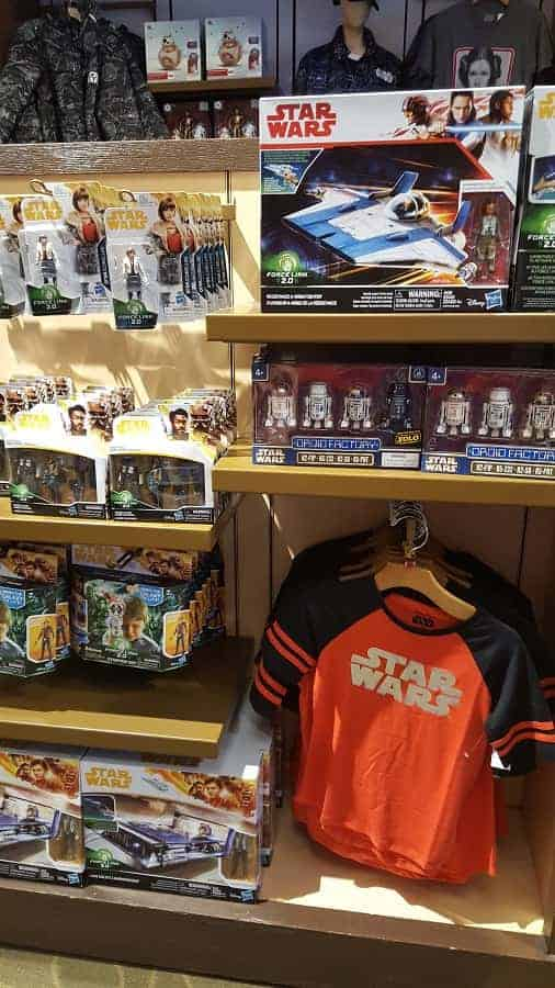 Star Wars Gear at Star Wars Trading Post in Disney Springs