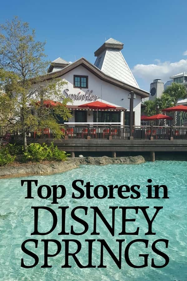 Top Stores in Disney Springs