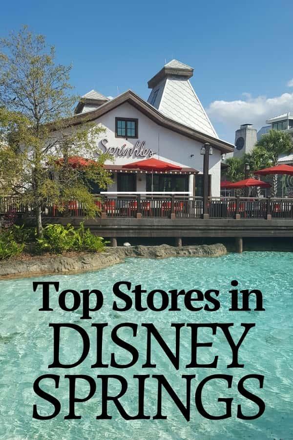 Top Stores in Disney Springs