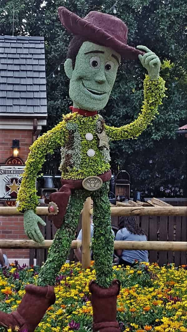 Toy Story Woody Topiary