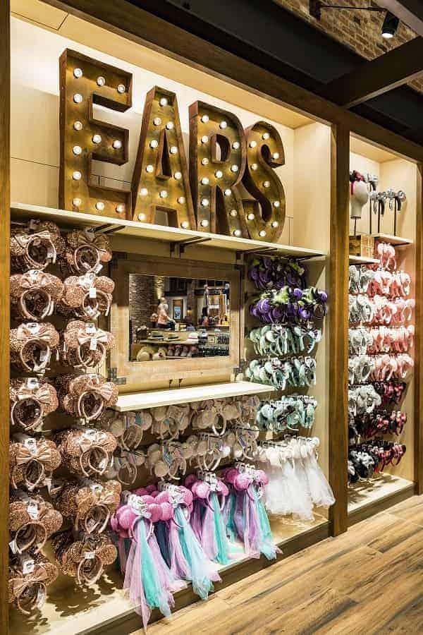 World of Disney Mickey Ear selection