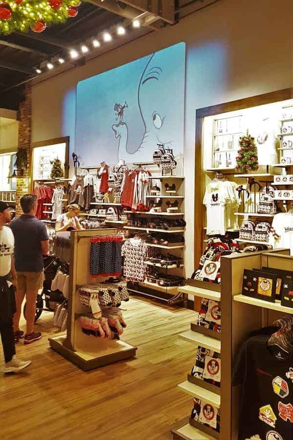 World of Disney Springs Store Interior