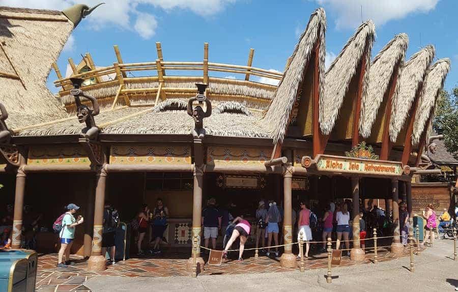 Aloha Isle Refreshments in Magic Kingdom