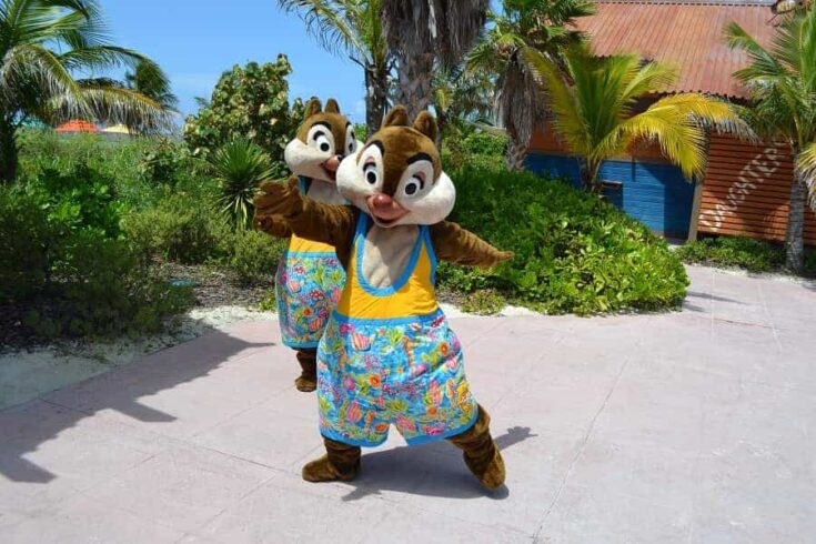 Where to Find Disney Characters at Castaway Cay