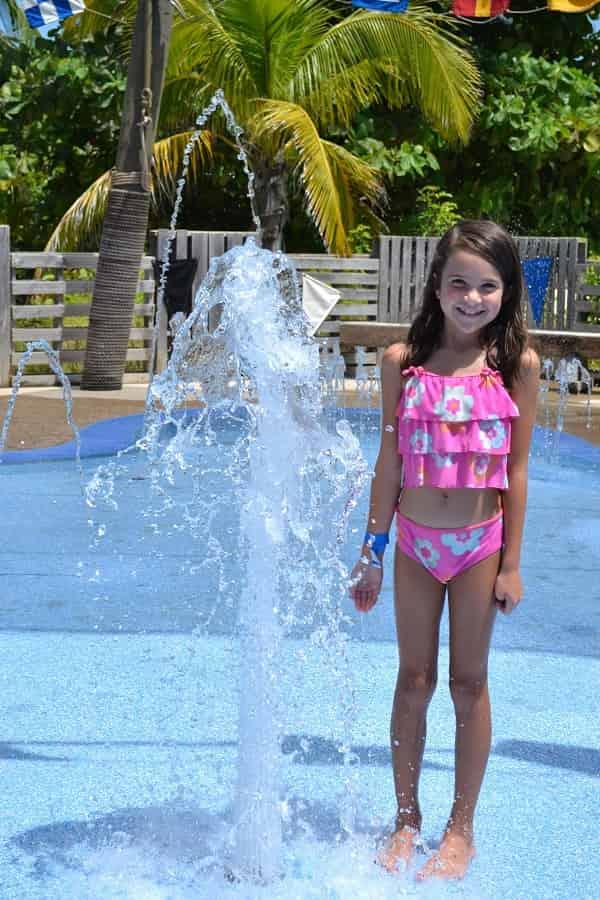 Castaway Cay Splash Pad