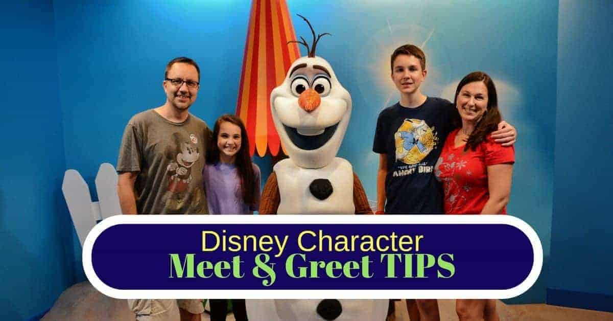 disney character meet and greet tips certification