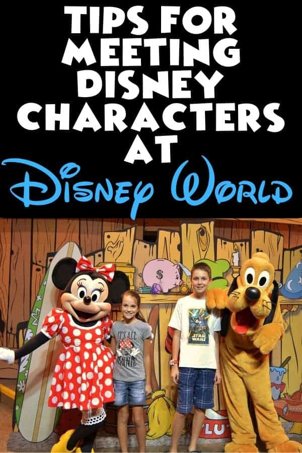 Tips for Meeting Disney Characters at Disney World