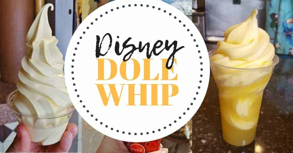 Where to find Disney Dole Whips at Disney World