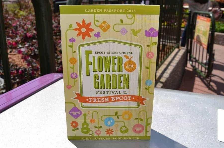 Epcot Flower & Garden Passport
