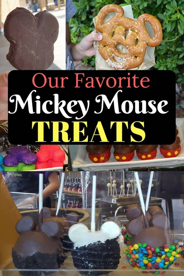Best Disney Snacks Shaped like Mickey Mouse